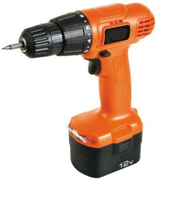 12-Volt Cordless Drill - Driver With Keyless Chuck and 50 Accessories Kit.