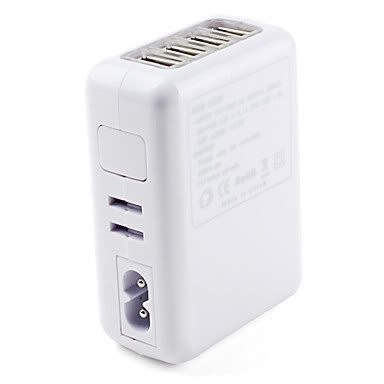 4 Port Travel Charger USB Adapter