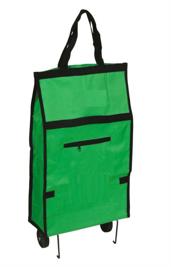 Collapsible Folding Shopping Trolley Bag