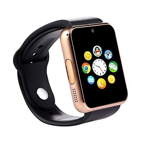 Smart Phones Supports Bluetooth Copper Brown Smartwatch