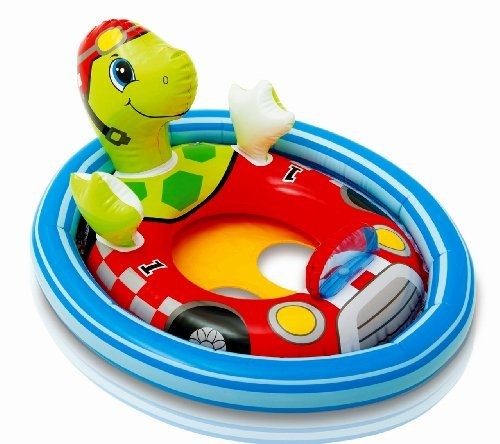 Tortoise Shape See Me Sit Ride Inflatable Pool Accessory