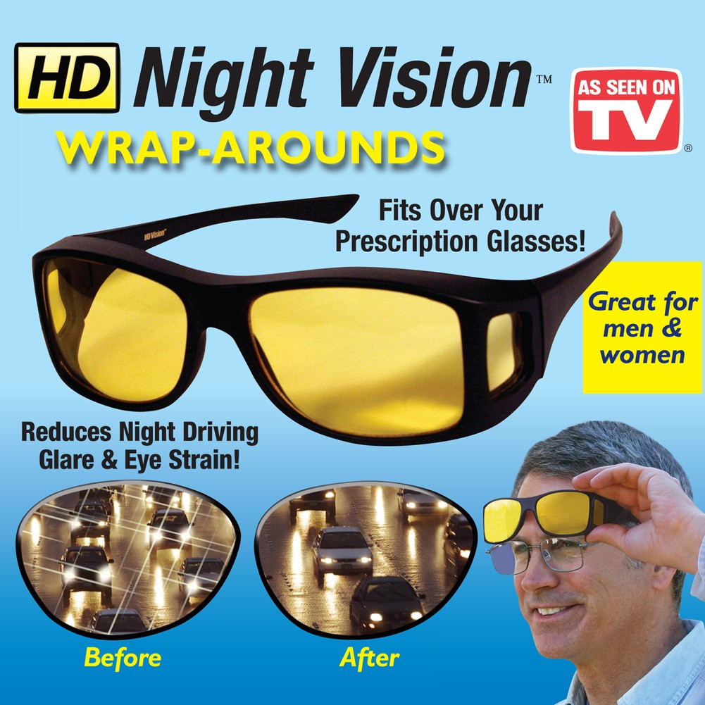 HD Wrap Arounds Over Glasses Frames