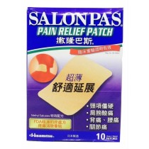 10 Pcs of Methyl Salicylate Pain Relief Patches