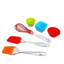 12 Pcs Reusable Silicone Cupcakes Baking Set