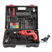 13 mm Impact Drill with Variable Speed, Reverse Hammering Function Kit