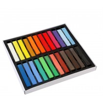 24 Non Toxic Temporary Hair Colouring Soft Pastels