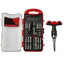 28 piece T-handle Screw Driver Set