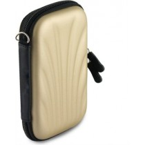 Gold 2.5 Inch Hard Drive Case Hard Shell