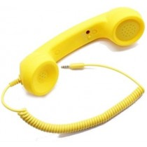 3.5mm Retro Anti - Radiation Wired Handset Receiver Wired Headset
