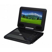 "7"" portable DVD player Black Color"
