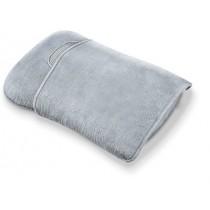 Grey and Silver Portable Pillow Massager