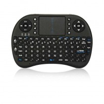 Black Wireless 2.4GHz Touchpad Keyboard with Mouse
