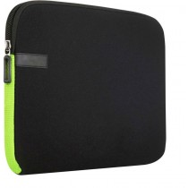 Black-Green 7-Inch Tablet Sleeve