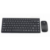 Black 104 Standard Chocolate Keys Keyboard & Mouse Set