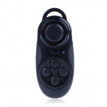 Black Portable Mini Bluetooth Gamepad & Selfie Shutter Remote