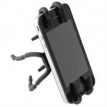 Black Spider Podium Stand Car Holder For Smartphones