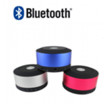 Cylinder Style Rechargeable Bluetooth Speaker