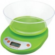 Digital Kitchen Multi-Purpose Transparent Bowl With 5kg Weighing Scale