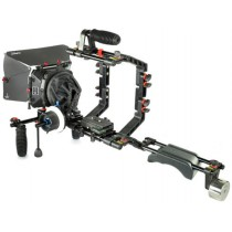 Filmcity  DSLR DV Camera Shoulder Mount Rig Follow Focus Mattebox Hood Video Shot