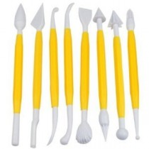 Fondant 8 in 1 Decorating, Carving Bone Tools Kit