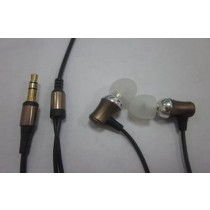 Golden Plated Mini Speaker Earphone