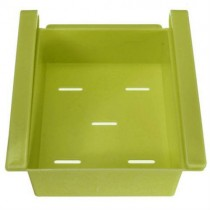 Green Storage Drawer Rack Fridge Organizer