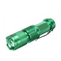Green Pocket LED Mini Flashlight Torch