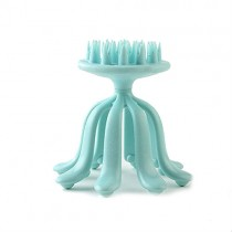 Aqua Blue Octopus Shaped Head Massager