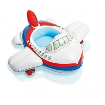 Aeroplane Shape Swim Pool Water Float Ring Cruiser   Features:  Cute Aeroplane Shape Pool Cruiser Kiddie Float Ring for Babies. Smooth Leg Holes to Dangle The Legs and Feel The Water. Inflatable Vinyl Body and Seats Feels Comfortable To Kids In The Float.