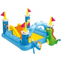 Kids Fantasy Castle Pool Inflatable Water Play Center