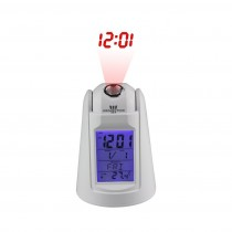 Led Talking Time Alarm Clock With Calendar Thermometer Display