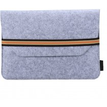 Light Grey 11.6 inch Protective Felt Laptop Sleeve