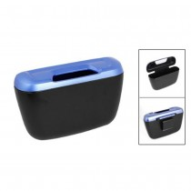 Mini Car Trash Bin Plastic Dustbin