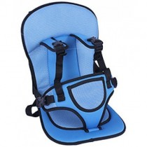 Multi-function Adjustable Baby Car Cushion Seat with Safety Belt.