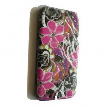 Multi Color Flower Design Back Cover for iPhone 6