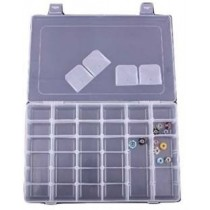 Multipurpose Clear Transparent Plastic Storage Box.