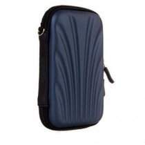 Navy Blue 2.5 Inch Hard Drive Case Hard Shell.