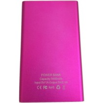 Pink Portable Slim 5000Mah Power Bank 5000 mAh