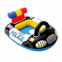 Police Car Shape Swim Pool Water Float Ring Cruiser