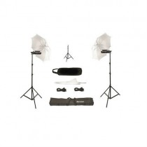 Portable 4 Still Video Photography Pair Porta Umbrella Kit
