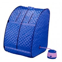 Portable Blue Steam and Sauna Bath.
