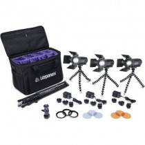 Portable Litepanels Caliber 3-Light Kit