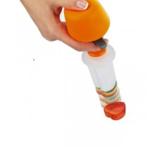 Just Push, Pop And Make Vegetables and Fruits Fun Shapes Chopper
