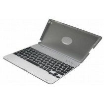 Silver 82 Key Plastic Keyboard With Case