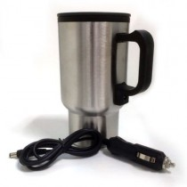 Stainless Steel 12V Portable Heated Travel Mug