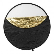 Translucent 32 Inch 5 in 1 Collapsible Round Reflector