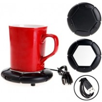 USB Cup Warmer Pad For Keeping Warm Coffee Tea & Milk