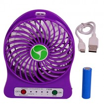 USB Rechargable Mini Portable Fan