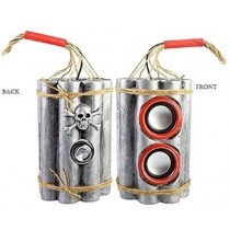 USB Rechargeable Bomb shell Speaker Home Audio Speaker