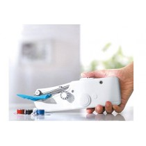 White Handy Stitch Portable and Cordless Handheld Sewing Machine